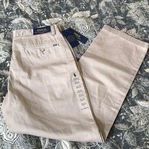 Ralph Lauren Classic Fit Chino Khaki Pants 32 x 30